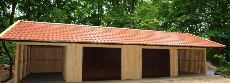 Doppelgarage mit carport  Garage Carport Kombi