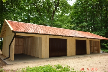 garage carport 4 stellpl tze. Black Bedroom Furniture Sets. Home Design Ideas